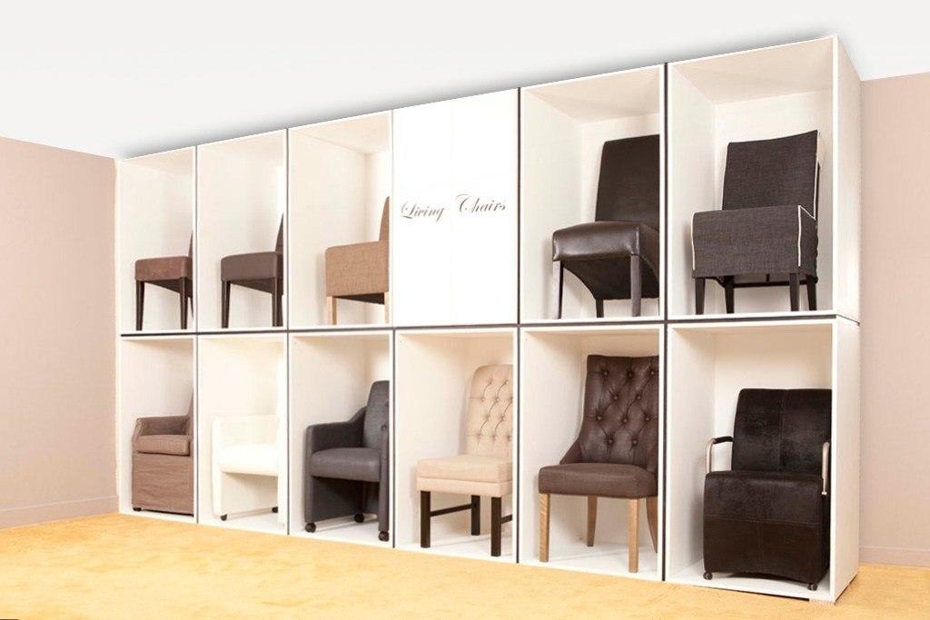 Diverse soorten (eethoek) stoelen