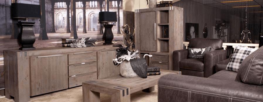 Robuuste, stoere landelijke meubelen
