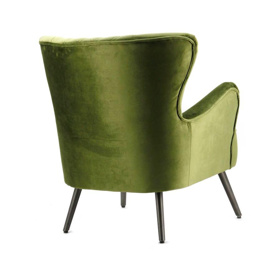 Fauteuil daisy groen genova aanbieding fauteuils bij for Fauteuil groen