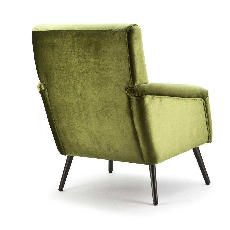 Fauteuil duke groen genova aanbieding fauteuils bij for Fauteuil groen