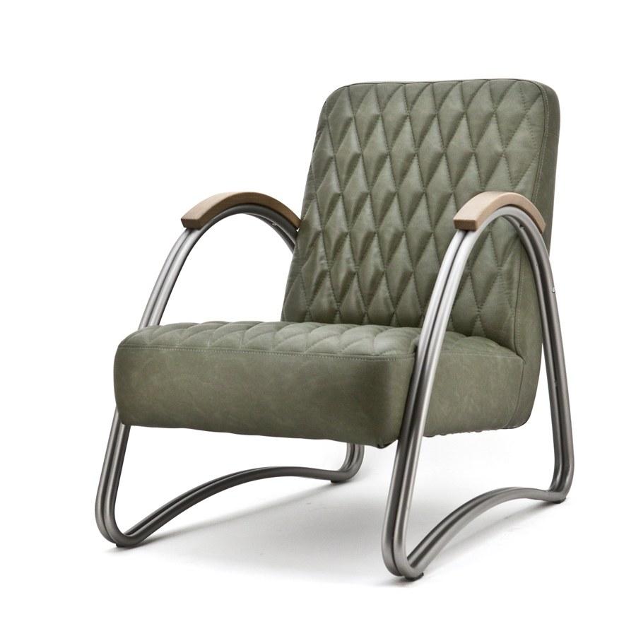 Oorfauteuil aanbieding fauteuil town huismerk de bommel for Fauteuil groen