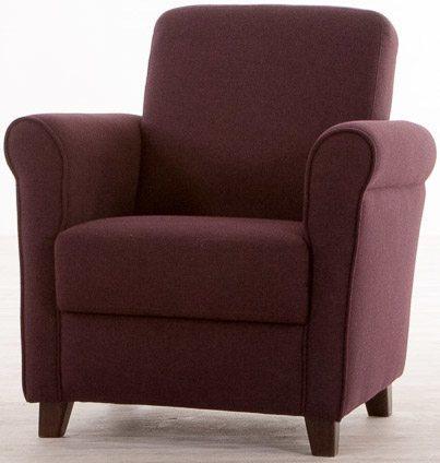 Fauteuil paars aanbieding relax fauteuils bij for Paarse eetkamerstoelen