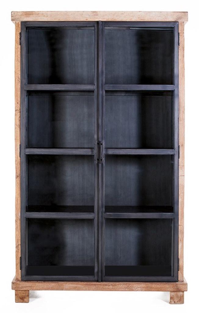 Geneve vitrinekast 2 deurs
