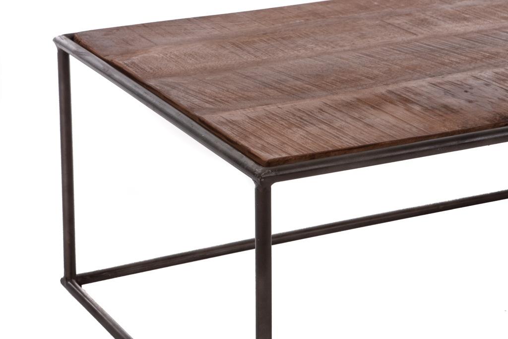 Langwerpige retro salontafel