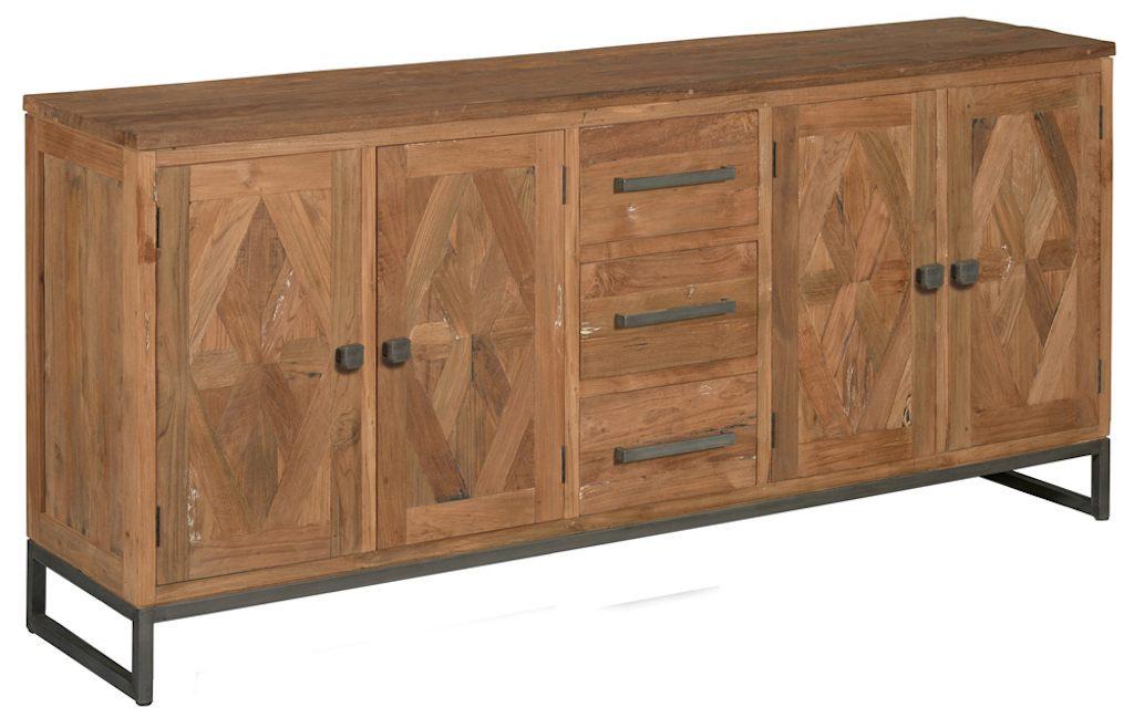 Mascio dressoir 4 deuren en 3 laden