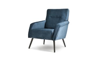 Fauteuil Duke - blauw genova