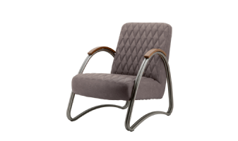 Fauteuil Mike - taupe vintage