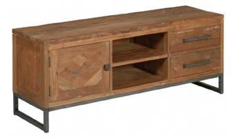 Mascio tv meubel 1 deurs met 2 lade