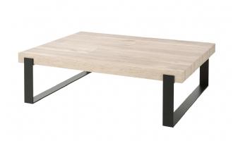 Vierkante salontafel Pisa met sledepoot